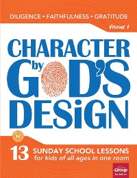Character by God's Design Volume 1 - 9781470742140