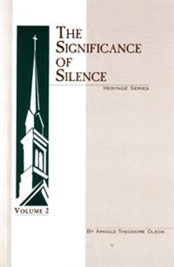 The Significance of Silence - 7100076215