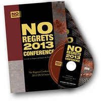 No Regrets Conference DVD 2013 - NRC2013