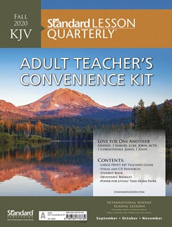 KJV Adult Teachers Conv Kit - 6296-1