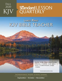 KJV Bible Teacher Large Print - 6298-1