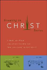 Growing in Christ - 891091572