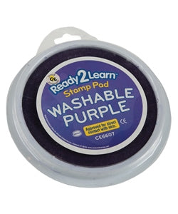 Jumbo Washable Stamp Pad, Purple - NR - 734653029230