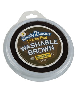 Jumbo Washable Stamp Pad, Brown - NR - 734653029254