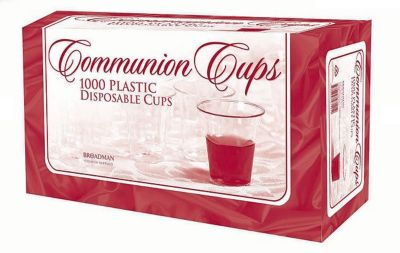 1000 Plastic Disposable Communion Cups - 805471219