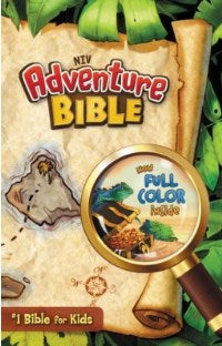 NIV Adventure Bible Hardcover - 9780310727477