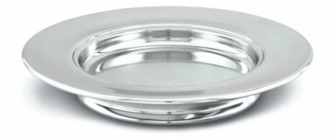 STACKING BREAD PLATE - CP SILVERTONE - RW504A