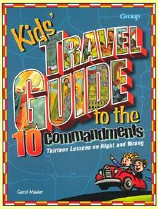 Kid's Travel Guide to the Ten Commandments - 764422243