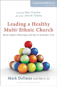 Leading a Healthy Multi-Ethnic Church - 9780310515395