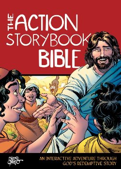 The Action Storybook Bible - 9780781414203