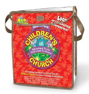 Noah's Park Children's Church Kit - Red Edition - 9780781444903