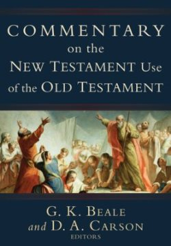 Comm on the New Testament Use of the Old Testament - 9780801026935