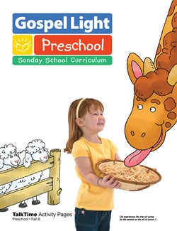 Preschool TalkTime Activity Pages - 9780830762644