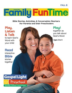 Preschool-Kindergarten Family FunTime - 9780830762651
