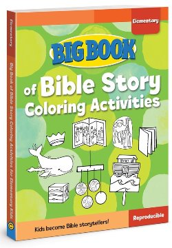 Big Book of Bible Story Coloring Activities for Elementary - 9780830772308