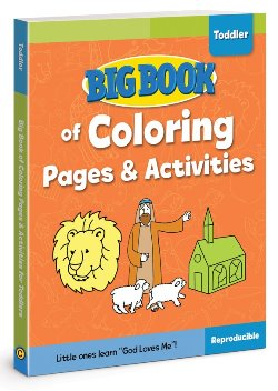 Big Book of Coloring Pages and Activities for Toddlers - 9780830772377