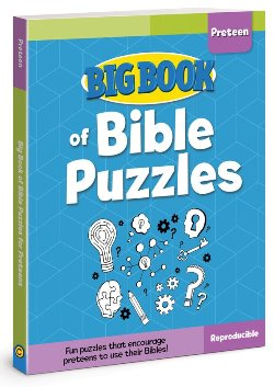 Big Book of Bible Puzzles for Preteen - 9780830772421