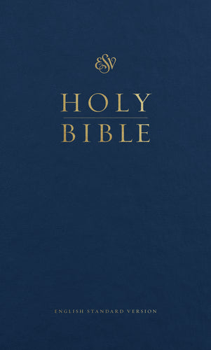 ESV Pew Bible Hardcover, Blue Case of 24