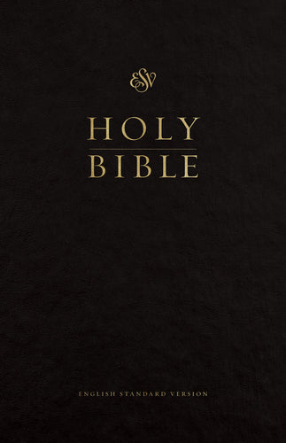 ESV Premium Pew and Worship Bible Hardcover, Black, Case of 12