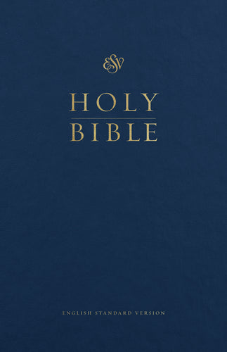 ESV Premium Pew and Worship Bible Hardcover, Blue, Case of 12