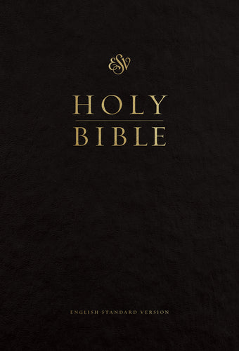 ESV Pew and Worship Bible, Large Print Black, Case of 12