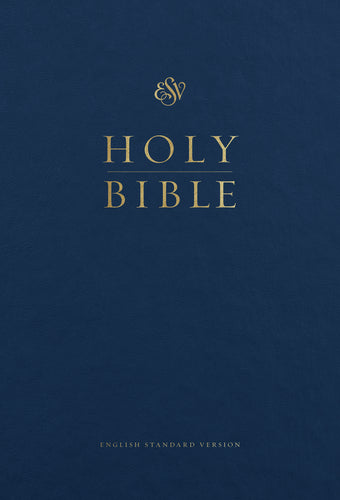 ESV Pew and Worship Bible, Large Print Blue, Case of 12