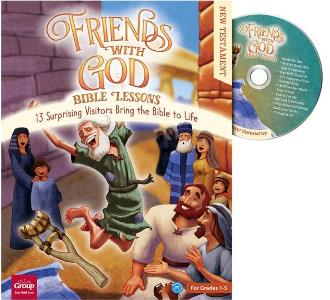 Friends with God Bible Lessons - New Testament - 9781470760083