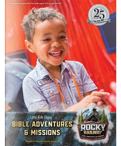 Little Kids Depot Bible Adventures & Missions Lead - 9781470760564
