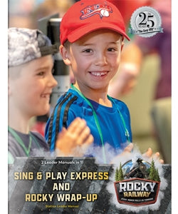 Sing & Play Express and Rocky Wrap-Up Leader Manua - 9781470760700