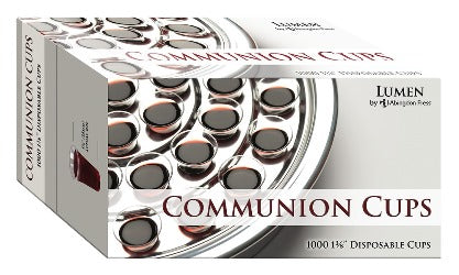 1000 Plastic Disposable Communion Cups - 9781501840654