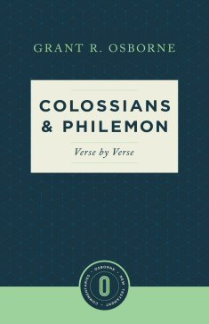 Colossians & Philemon - Verse by Verse - 9781577997368