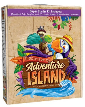 Discovery on Adventure Island VBS Starter Kit - 9781791004460