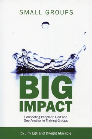 Small Groups Big Impact - 9781889638959