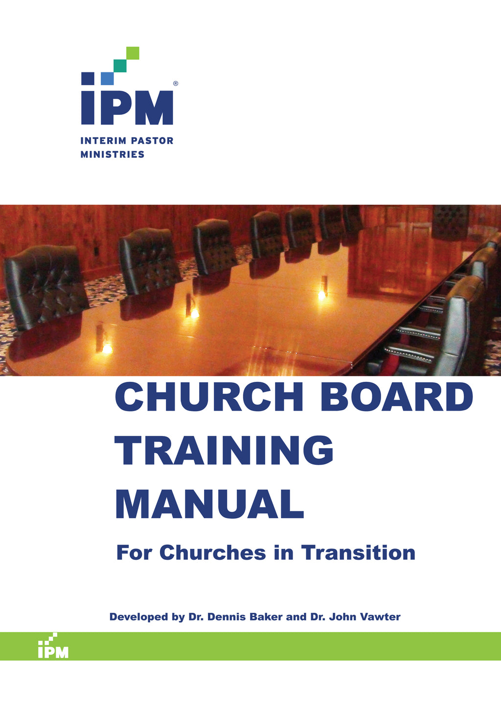 Church Board Training Manual - CBTM