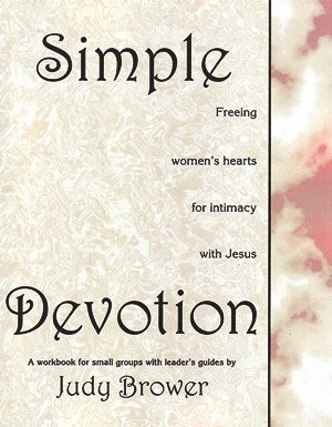 Simple Devotion Workbook - 0982576649