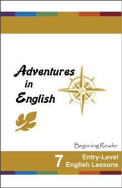 Adventures in English Beginning 7 Lesson SG - RGC109