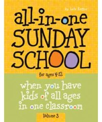 All in One Sunday School Vol.3 - 9780764449468