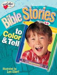 Bible Stories to Color & Tell (Ages 6-8) - 9780784713488