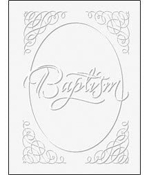 Baptism Certificates Package of 6 - U2442