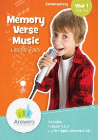 ABC2 Contemporary Memory Verse Music Leader Pack - 19-1-130