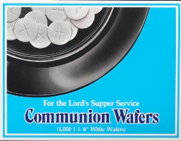 Communion Bread Wafers (1000) - 4305-11