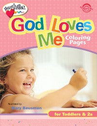 God Loves Me Coloring Pages (Ages 1-2) - 9780784717967
