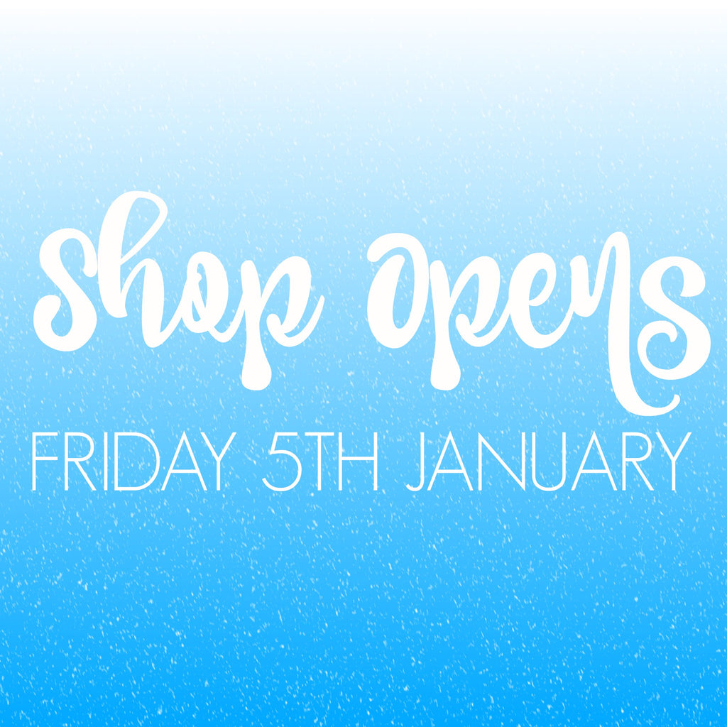 Luby&Lola ETSY Shop to Reopen Friday 5th January!