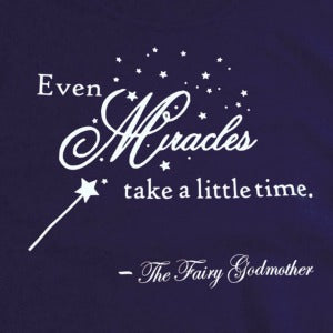 Monday Quarantine Motivation: Even miracles take a little time...