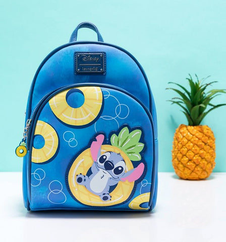 Loungefly Disney Lilo and Stitch Pineapple Mini Backpack