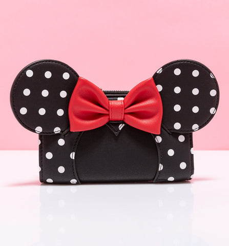 Loungefly Disney Minnie Mouse Polka Dot Bow Wallet