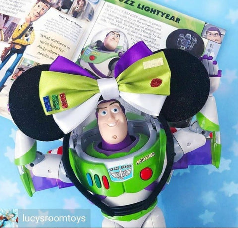 buzz lightyear bow etsy shop lubyandlola ears