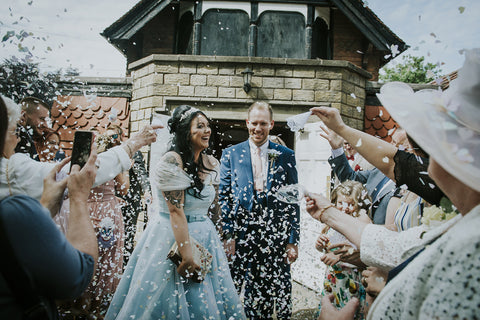 disney wedding confetti