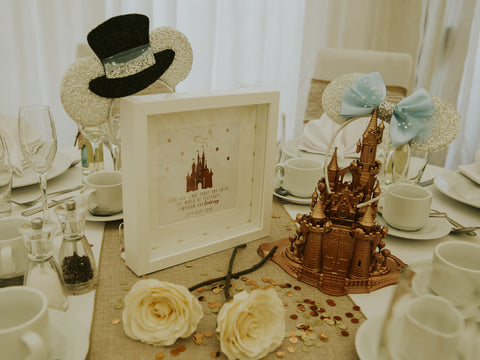 disney wedding top table ideas