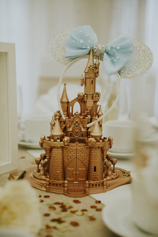 Disney Castle Wedding Centerpiece Inspiration